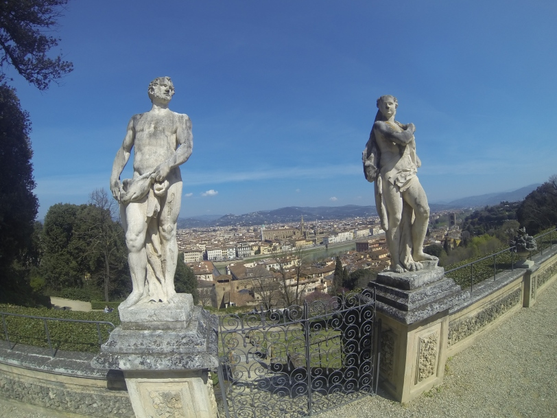 View from atop the Giardino di Bardini.