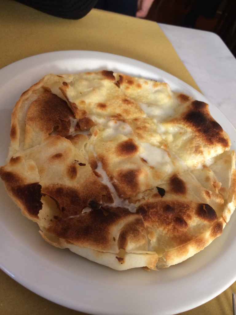 Delectable cheese stuffed Focaccia form 5 Cinque!
